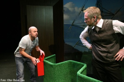 """Tyl"", scenografi Silje Sandodden Kise. Foto: Olav Reiakvam"