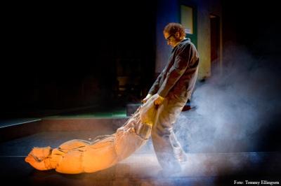 """Little shop of horrors"", Scenografi Silje Kise, Foto: Tommy Ellingsen"